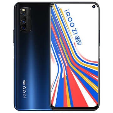 vivo iQOO Z1 5G CN Version 6.57 inch FHD+ 144Hz Refresh Rate NFC Android 10 4500mAh 48MP AI Triple Rear Camera 8GB 128GB Dimensity 1000+ Smartphone Mobile Phones from Phones & Telecommunications on banggood.com