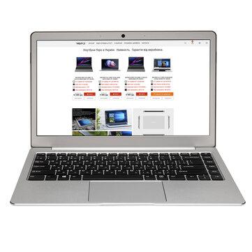 YEPO 737A8 13.3 inch Intel N4100 8GB RAM 256GB SSD 90% Ratio 38Wh Battery 15mm Thinckness Full Metal Laptop