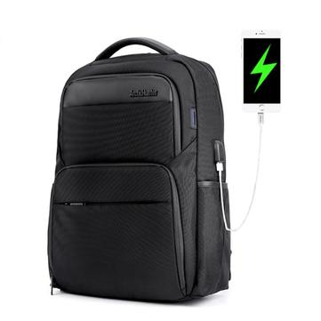 ARCTIC HUNTER B00113C Laptop Backpack Male USB Charge Backpack Laptop Bag Men Casual Travel Nylon Backpacks School Shoulder Bag