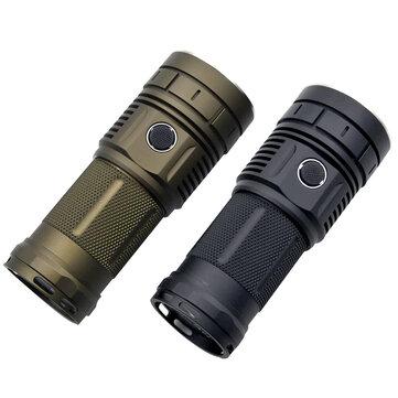 Haikelite HK04 4 x XHP50.2 13000LM Anduril UI Super Bright Flashlight