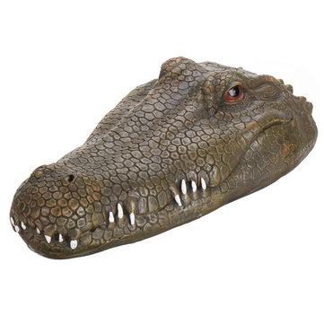Flytec V002 2.4G RC Boat Vehicle Models Simulate Crocodile Toys
