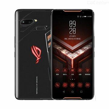ASUS ROG Phone ZS600KL 6.0 Inch FHD+ IP68 Waterproof NFC 4000mAh 12MP + 8MP Dual Rear Camera 12GB RAM 512GB ROM Snapdragon 845 Octa Core 2.96GHz 4G Gaming SmartphoneSmartphonesfromMobile Phones & Accessorieson banggood.com
