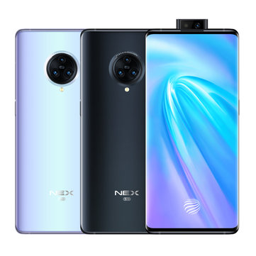 VIVO NEX 3 5G Version 6.89 inch Super AMOLED 64MP Triple Rear Camera NFC 12GB 256GB Snapdragon 855 Plus Octa core 5G SmartphoneSmartphonesfromMobile Phones & Accessorieson banggood.com