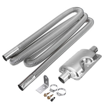 https www banggood com 250cm stainless steel exhaust pipe w or silencer for parking air diesel heater p 1623989 html