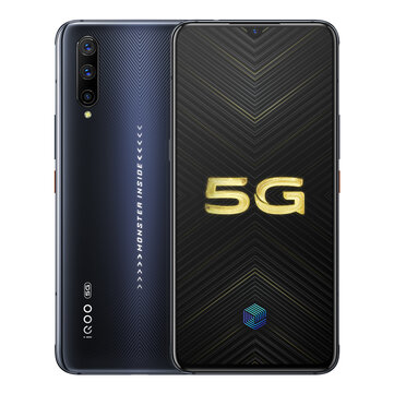 VIVO iQOO Pro 5G Version 6.41 inch Super AMOLED 48MP Triple Rear Camera NFC 12GB 128GB Snapdragon 855 Plus Octa core 5G Smartphone Mobile Phones from Phones & Telecommunications on banggood.com