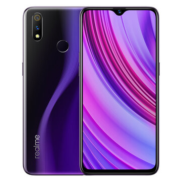 £245.03 19% OPPO Realme 3 Pro Global Version 6.3 Inch FHD+ Android 9.0 4045mAh 25MP AI Front Camera 6GB RAM 128GB ROM Snapdragon 710 Octa Core 2.2Ghz 4G Smartphone Smartphones from Mobile Phones & Accessories on banggood.com