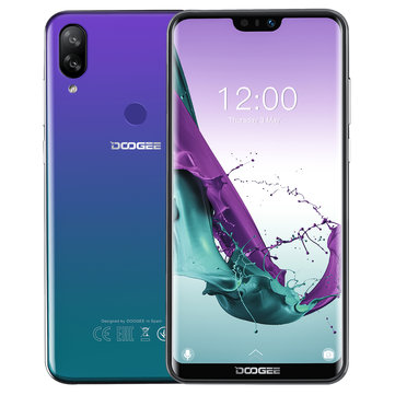 £84.6931%DOOGEE N10 5.84 Inch FHD+ 3360mAh 16.0MP + 13.0MP Dual Rear Cameras 3GB RAM 32GB ROM Octa Core 4G SmartphoneSmartphonesfromMobile Phones & Accessorieson banggood.com