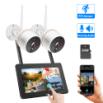Hiseeu WNKIT-7V-2HB412 EU White 2 million pixel wireless network camera set