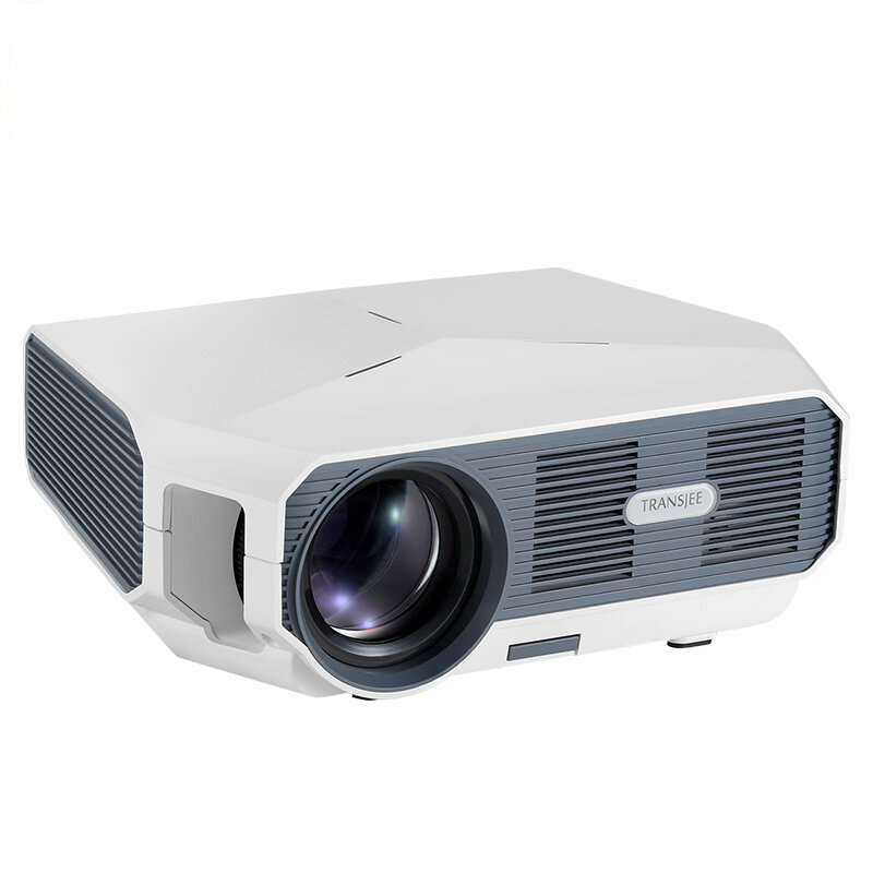 AUN ET10-TP LED Projector 3800 Lumen Support 1080P 3000:1 Contrast Ratio Video 3D Mini Beamer Wireless Screen Mirroring Version