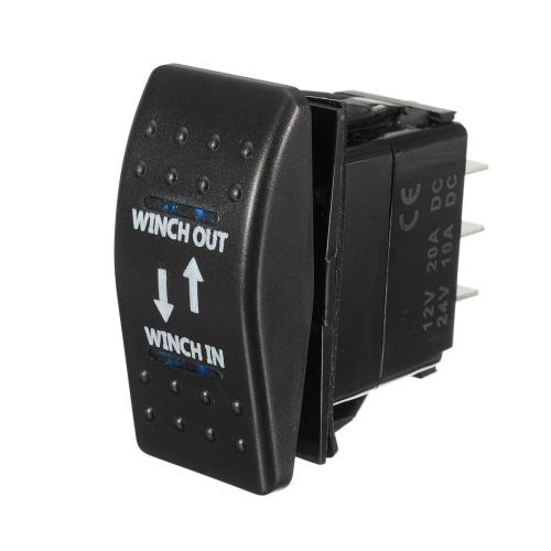small resolution of 12v 20a on off on rocker switch momentary winch in winch out led 7 pin blue l cod