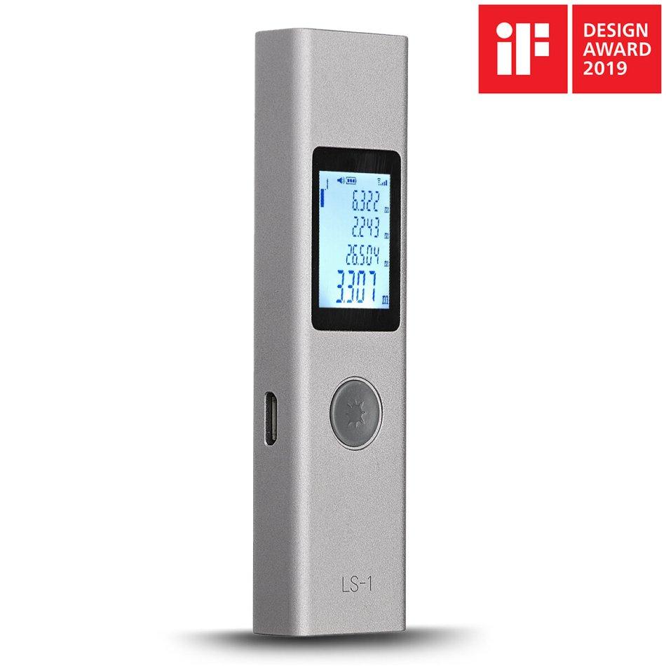 ATuMan DUKA LS-1 Intelligent USB Rechargeable Digital Laser Rangefinder Distance Meter Range Finder Measure