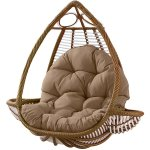 Hammock Chair Seat Cushion Hanging Swing Seat Pad Thick Nest Hanging Chair Back Pillow Home Office Furniture Accessories Sale Banggood Com