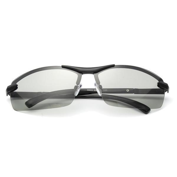 uv400 polarized photochromic sunglasses men's driving ...