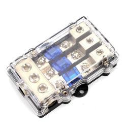 60a car motor stereo audio power fuse holder block fuse box universal waterproof cod [ 1000 x 1000 Pixel ]