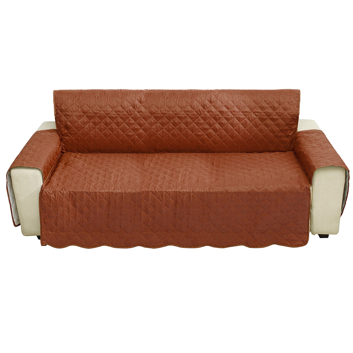 3 Seater Seats Sofa Chair Cover Living Room Home Decoration Polyester Fashion Dust Proof