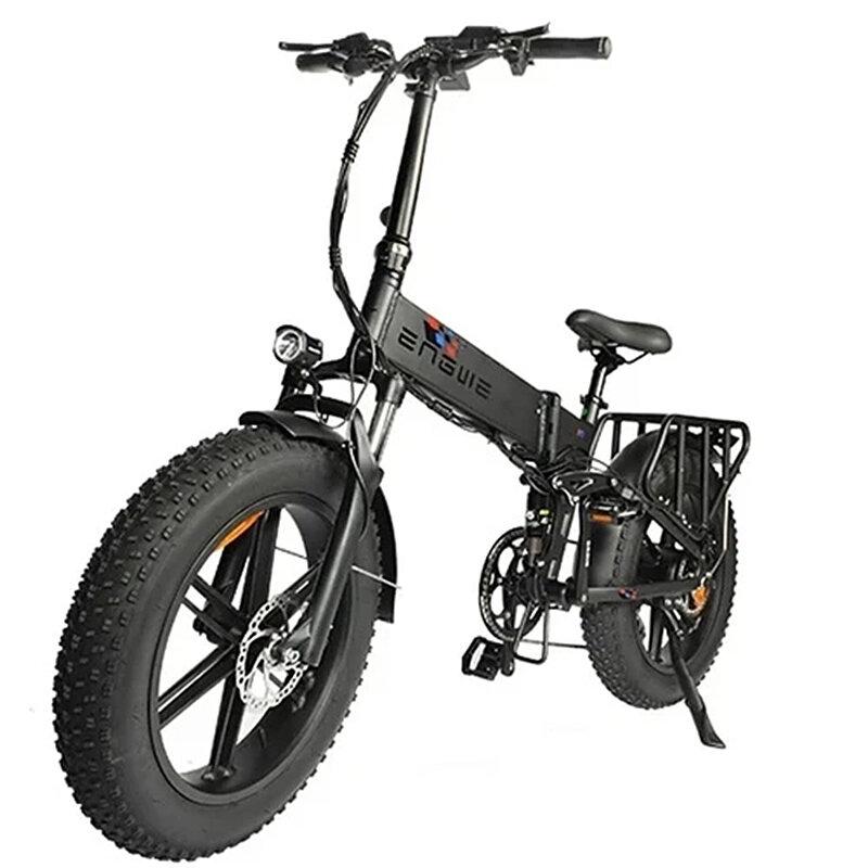 [EU DIRECT] ENGWE ENGINE PRO 750W 12.8Ah 48V 20*4in Folding Fat Tire Electric Bike Bicycle 45km/h Top Speed City Mountain E BIKE