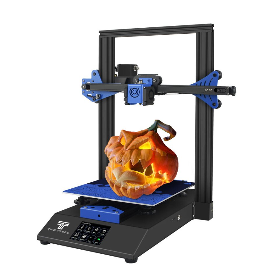 TWO TREES® BLUER 3D Printer DIY Kit 235*235*280mm Print Size Support Auto-level/Filament Detection/Resume Print with TMC2208 Silent Driver/MKS ROBIN NANO Mainboard