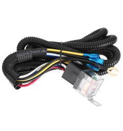 12 24v 100cm horn wiring harness relay kit double speaker harness for car truck cod [ 1200 x 1200 Pixel ]