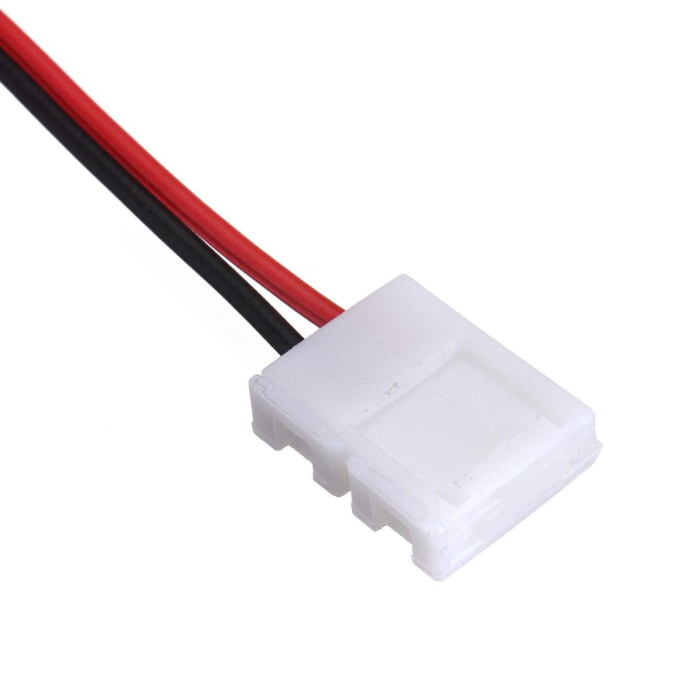 medium resolution of 20x 2 pins connector for led strip wire 3528 5050 with pcb ribbon cod