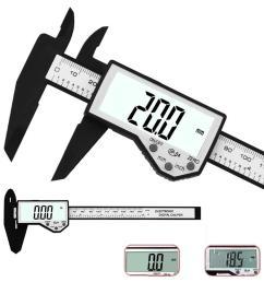 daniu digital caliper 6 inch 150mm electronic waterproof ip54 digital vernier caliper lcd screen display micrometer measuring tool caliper cod [ 1000 x 1000 Pixel ]