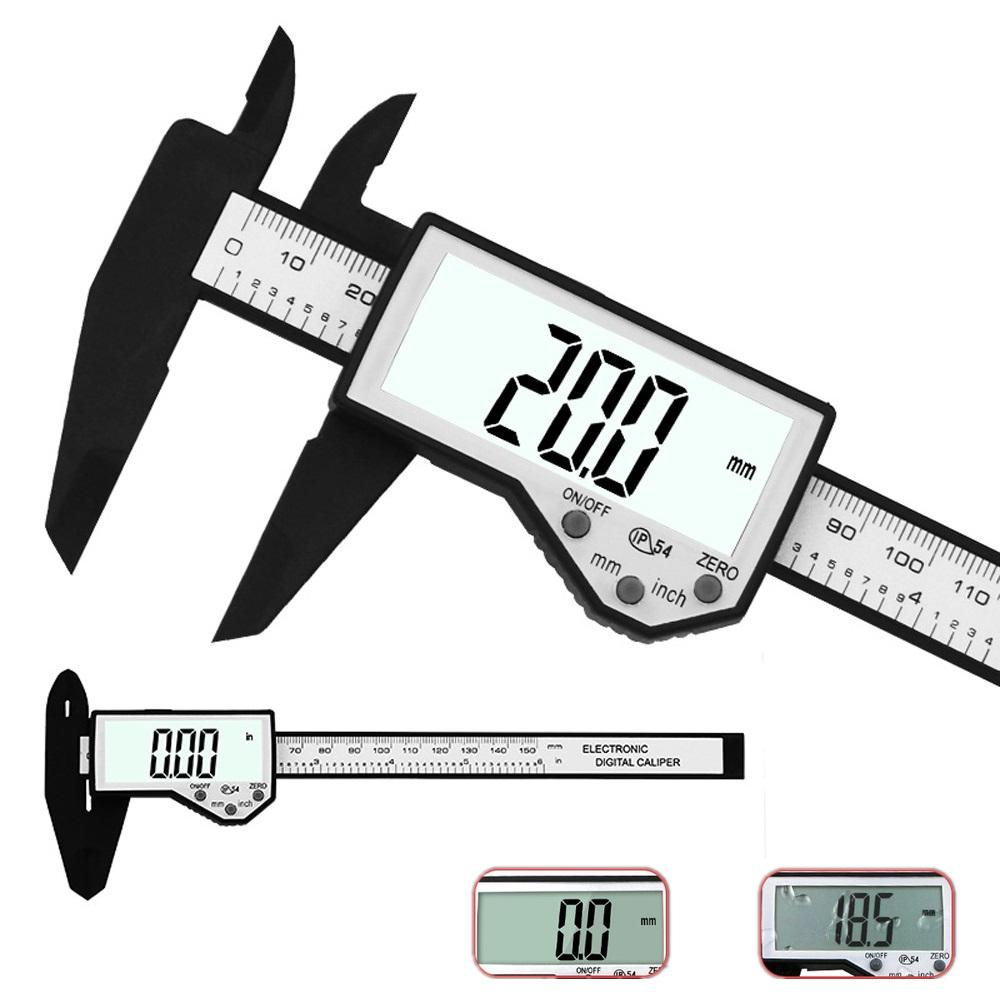 hight resolution of daniu digital caliper 6 inch 150mm electronic waterproof ip54 digital vernier caliper lcd screen display micrometer measuring tool caliper cod