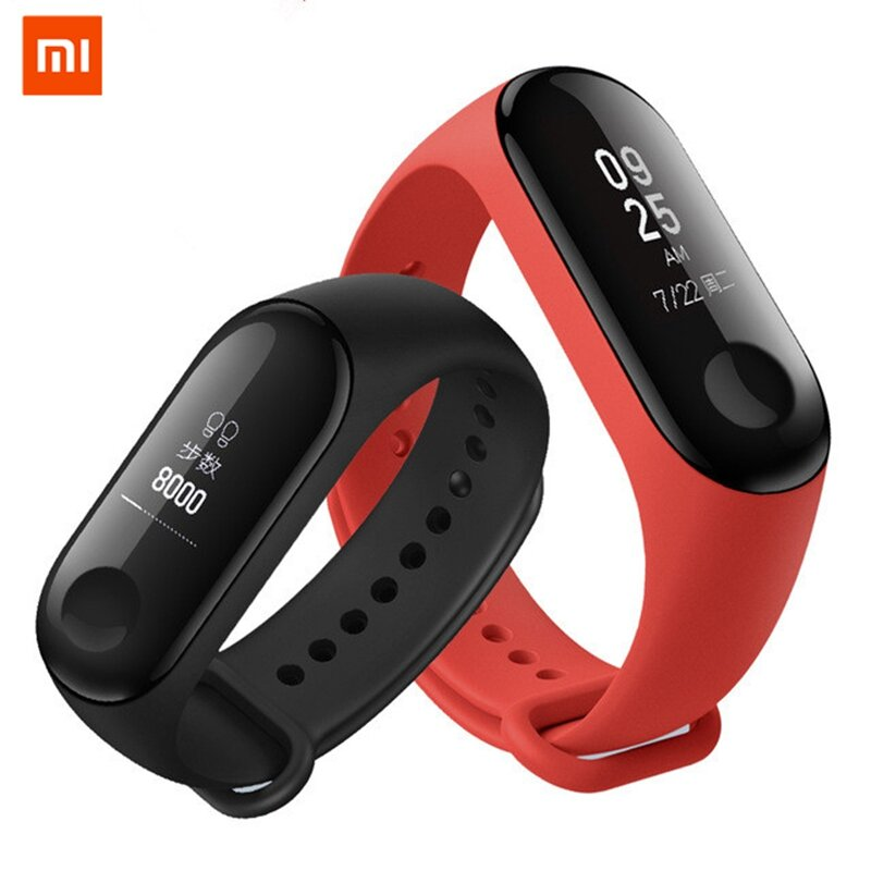 Original Xiaomi Mi band 3 Smart Watch OLED Display 50M Waterproof Heart Rate Monitor Fitness Tracker Bracelet