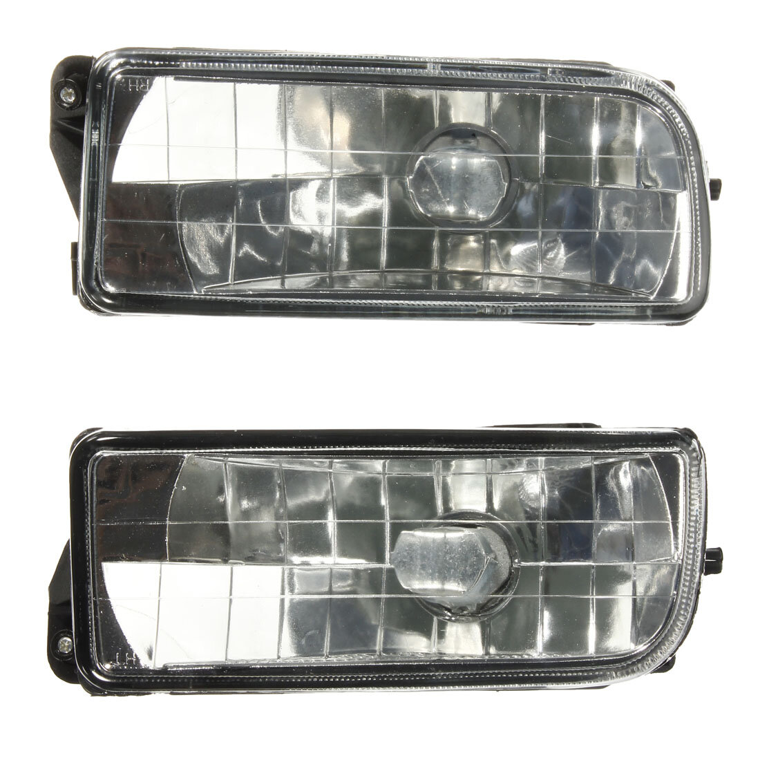 hight resolution of car front bumper fog lights clear glass lens with no bulb for bmw e36 3 series 1992 1998 cod