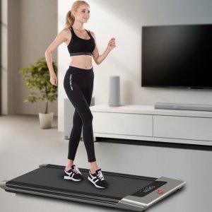 Στα €235.76 από αποθήκη Τσεχίας | KALOAD 50W 42cm Wide Tread Belt Treadmill 6 Modes Max Speed 6k/h APP/Remote Control Electric Fitness Walkingpad Machine for Family Max Load 90kg