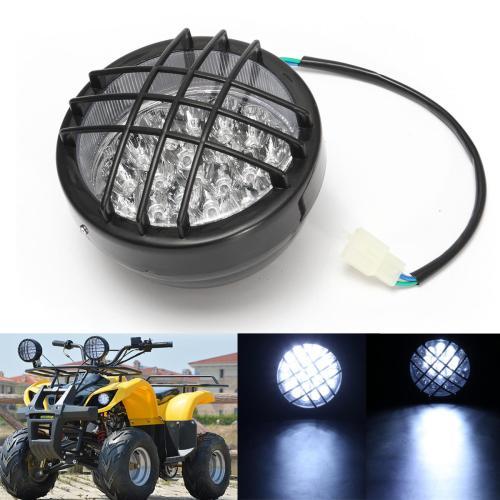 small resolution of 12v front led headlight lamp for atv quad 4 wheeler go kart roketa sunl taotao cod