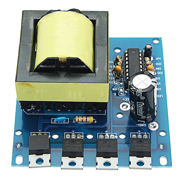12v To 18v Step Up Dc Converter By Ic 555
