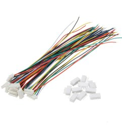 excellway mini micro jst 1 5mm zh 6 pin connector plug and wires cables 15cm 10 set cod [ 1200 x 1200 Pixel ]
