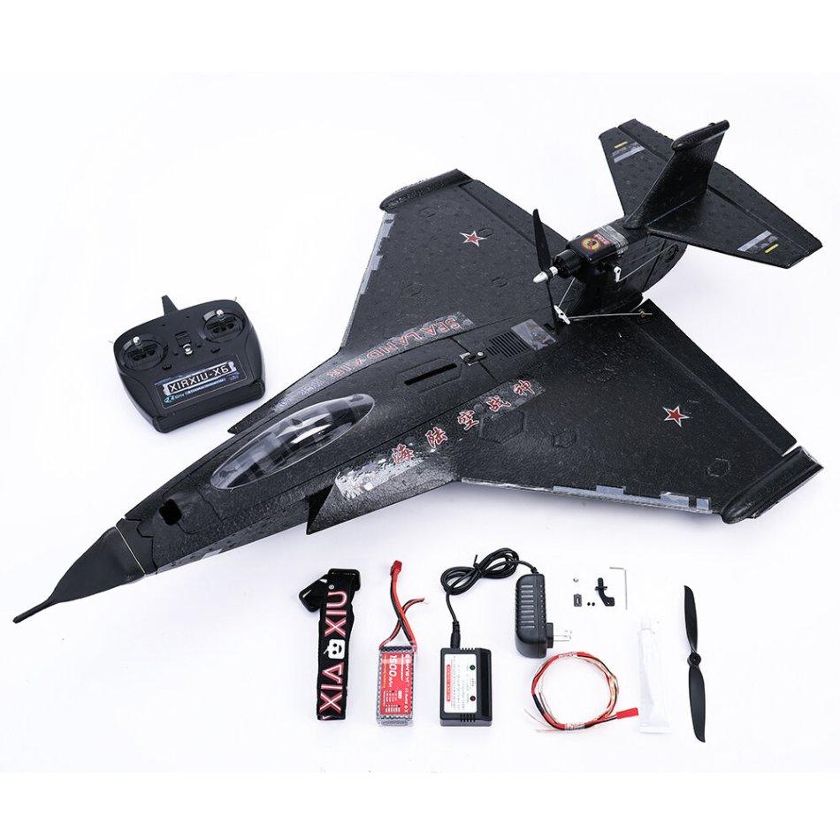 HLK-31 630mm Wingspan EPP Sea-Land-Air 3 in 1 plus RC Airplane RC Boat RC Car Wings Removable RTF Blue/Black
