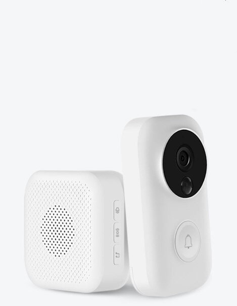US$59.99 13% Xiaomi Zero AI Face Identification 720P IR Night Vision Video Doorbell Set Motion Detection SMS Push Intercom Free Cloud Storage Security & Protection from Electronics on banggood.com
