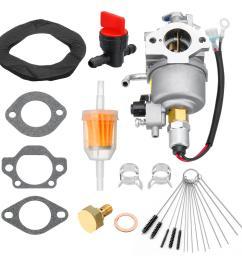 carburetor gasket kit for onan cummins a041d736 microquiet 4000 watt 4kyfa26100 generators cod [ 1200 x 1200 Pixel ]