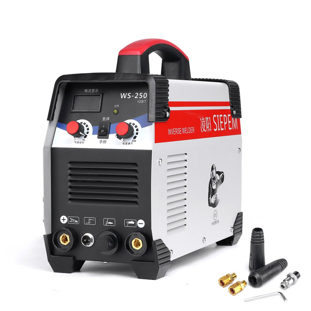 medium resolution of ws 250 250a 220v arc tig 2 in 1 welding machine portable igbt inverter weilding tools cod