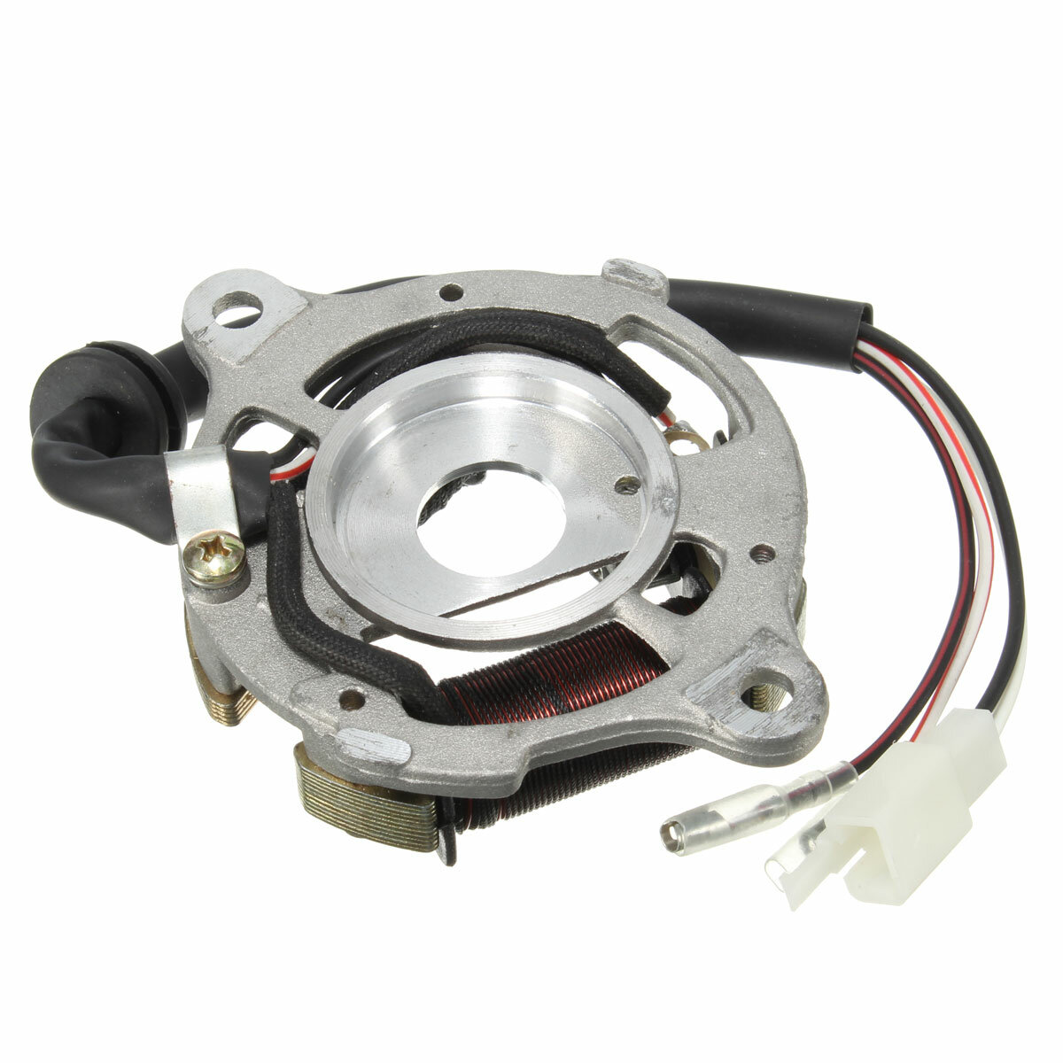 hight resolution of stator ignition magneto coil assembly for yamaha pw50 pw 50 qt50 cod