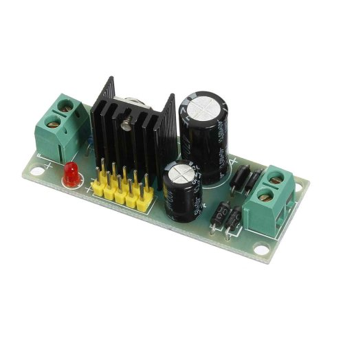 small resolution of l7805 lm7805 three terminal voltage regulator module for arduino cod