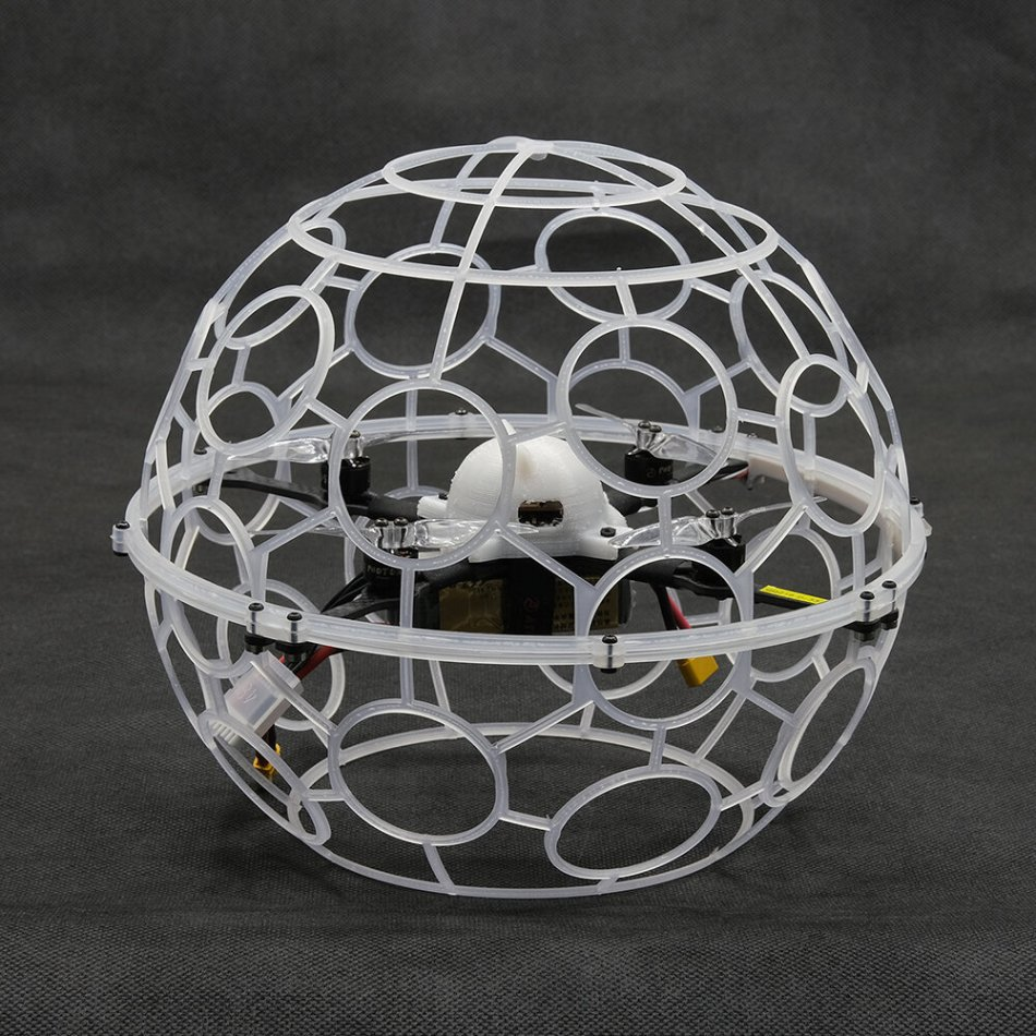 TUEO RC Football Novice FPV Racing Drone RTF Mode2 F405 Flight Controller 20A 4IN1 Brushless ESC 1105 3500KV Motor