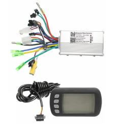 24v36v48v250w350w bldc motor speed controller lcd display for mtb e bike scooter model a 250w 24v cod [ 1200 x 1200 Pixel ]