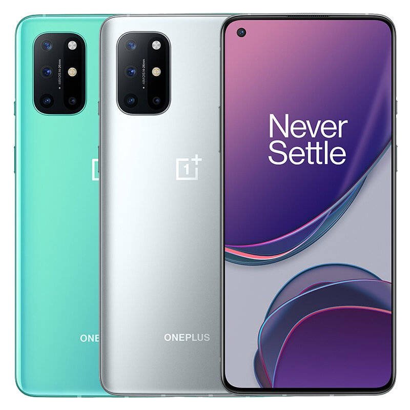Original OnePlus 8T 5G Global Version KB2003 12GB 256GB Snapdragon 865 NFC Android 11 6.55 inch FHD+ HDR10+ 120Hz Fluid AMOLED Screen 48MP Quad Camera 65W Warp Charge Smartphone