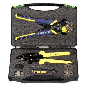 Στα €28.11 από αποθήκη Τσεχίας | Paron JX D5301 Multifunctional Ratchet Crimping Tool Wire Strippers Terminals Pliers Kit