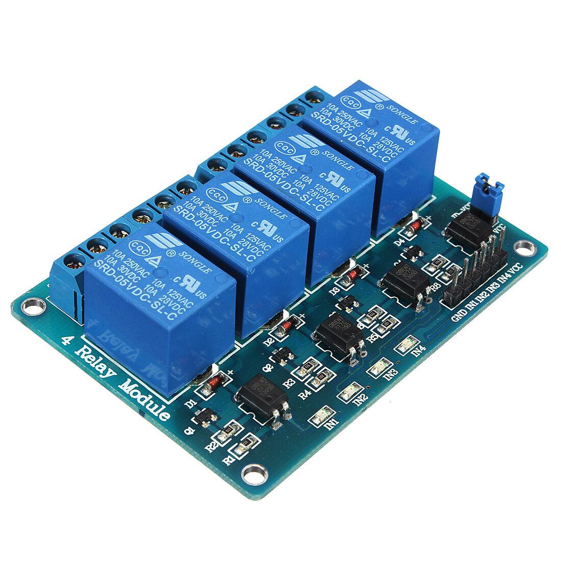 8 Relay Module Arduino Wiring