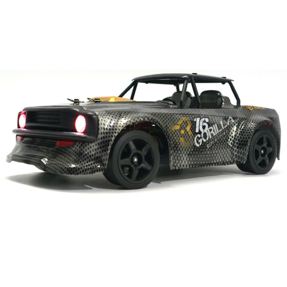 SG 1604 RTR 1/16 2.4G 4WD 30km/h RC Car LED Light Drift On-Road Proportional Control Vehicles Model COD
