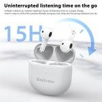 Στα 16€ από αποθήκη Κίνας   Blackview AirBuds 3 TWS Wireless bluetooth 5.1 Headphones Active Noise-Cancellation Earphone In-Ear HiFi Sports Waterproof Headsets for Smartphone With Auto Pairing & Play Music