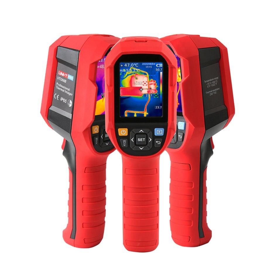 UNI-T UTi260B 256*192 Pixel Infrared Thermal Imager -15~550°C Industrial Thermal Imaging Camera Handheld USB Infrared Thermometer