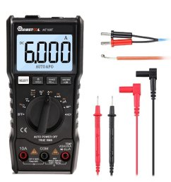 mustool mt108t square wave output true rms ncv temperature tester digital multimeter 6000 counts backlight ac [ 1000 x 1000 Pixel ]