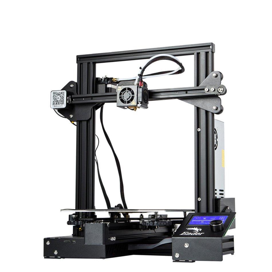 Creality 3D® Ender-3 Pro V-slot Prusa I3 DIY 3D Printer 220x220x250mm Printing Size With Magnetic Removable Platform Sticker/Power Resume Function/Off-line Print/Patent MK10 Extruder/Simple Leveling