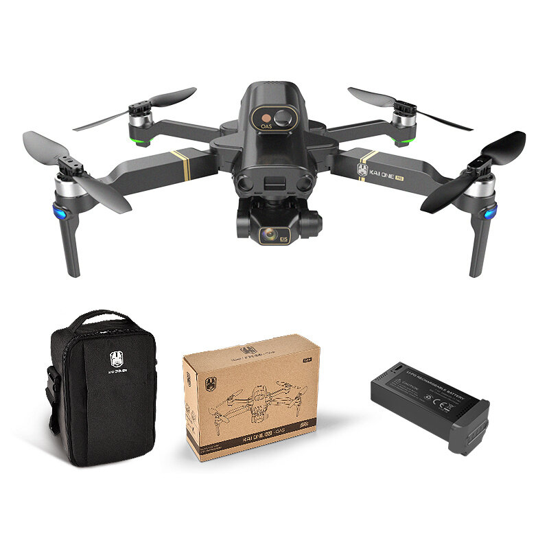 KAIONE 5G Wifi 1KM FPV With 3-axis Brushless Gimbal 8K Camera GPS EIS RC Drone Quadcopter RTF