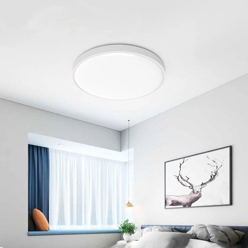 Yeelight XianYu C2001C450 50W AC220V Smart Ceiling Light Pure White Edition Bluetooth Remote APP Voice Control Intelligent Lamp Works With Mijia Homekit (Xiaomi Ecological Chain Brand)