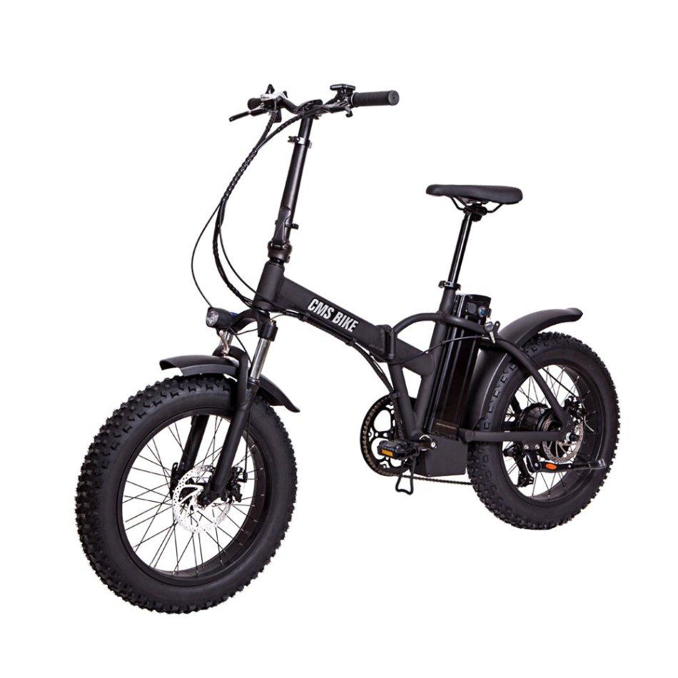 CMSBIKE CMSTD-20PZ 20Inch 48V 500W 10.4Ah Folding Electric Bicycle 30km/h Top Speed 60km Mileage Range LCD Screen Electric Bike